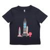 (100)五味太郎 Tシャツ きんぎょ ロケット