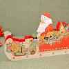 アドベントカレンダー 立体型サンタのそり