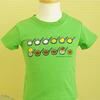 しろくまちゃん Tシャツ 110cm ほっとけーき グリーン