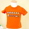 しろくまちゃん Tシャツ 90cm ほっとけーき オレンジ