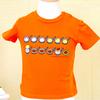 しろくまちゃん Tシャツ 100cm ほっとけーき オレンジ