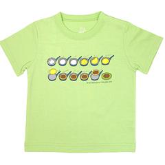 しろくまちゃん Tシャツ100cm ほっとけーき ミント