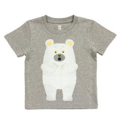 (90)tupera tupera Tシャツ しろくまのパンツ ディスカバリー