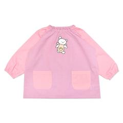 (90)こぐまちゃん ギンガムスモック ピンク