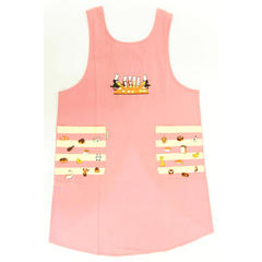 (F)からすのパンやさん エプロン ピンク