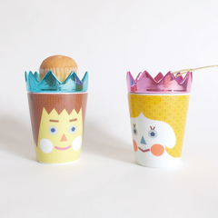 tupera tupera CUP&DISH PRINCE&PRINCESSセット