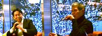 【トークライブ】  五味太郎×絵本ナビ代表金柿 対談ライブ  「やっぱり絵本はおもしろい!」