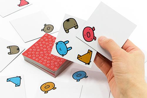 五味太郎 どうぶつさがしカードの商品画像3
