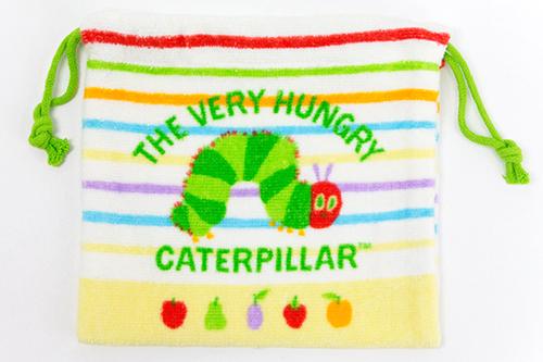 エリック・カール はらぺこあおむし タオル巾着の商品画像2