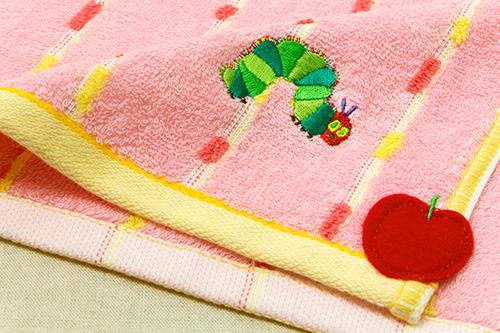 はらぺこあおむし ウォッシュタオル オーガニック フレッシュ ピンクの商品画像4
