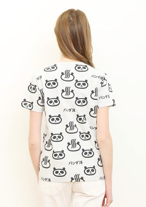 (M)tupera tupera Tシャツ パンダ銭湯 パターンの商品画像10