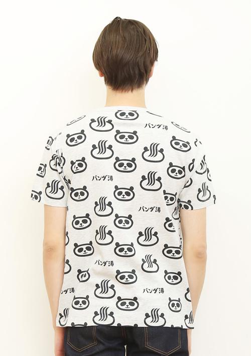 (M)tupera tupera Tシャツ パンダ銭湯 パターンの商品画像8