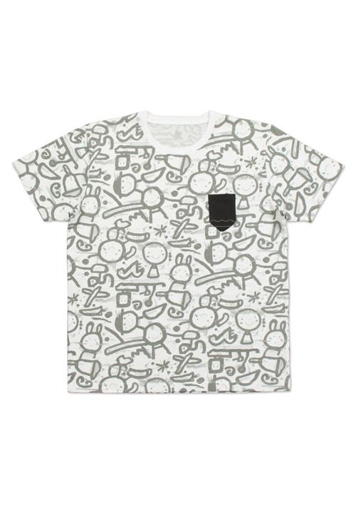 (L)五味太郎 Tシャツ らくがき絵本