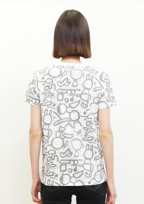 (L)五味太郎 Tシャツ らくがき絵本の商品画像10