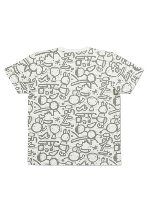 (L)五味太郎 Tシャツ らくがき絵本の商品画像2
