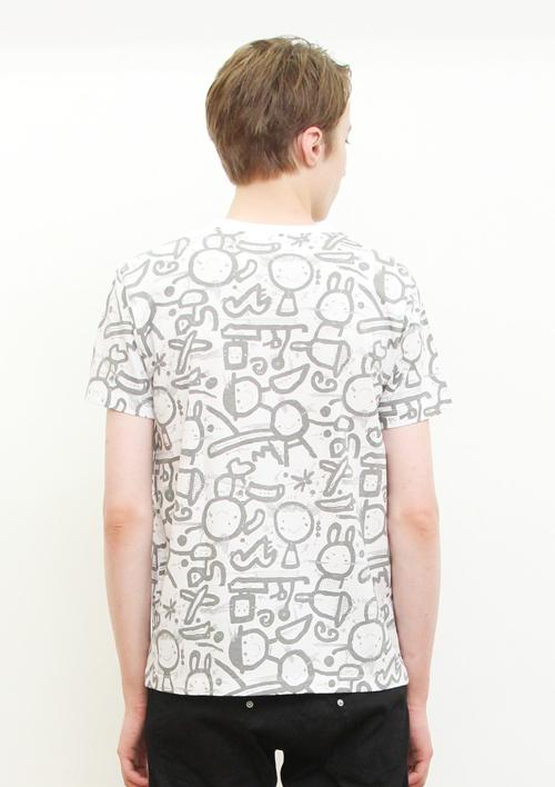 (L)五味太郎 Tシャツ らくがき絵本の商品画像8