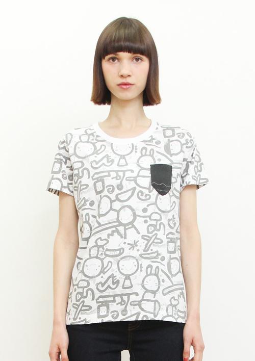 (L)五味太郎 Tシャツ らくがき絵本の商品画像9