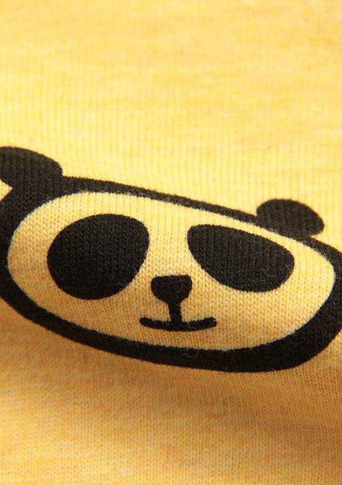 (100)tupera tupera Tシャツ パンダ銭湯 サングラスの商品画像6