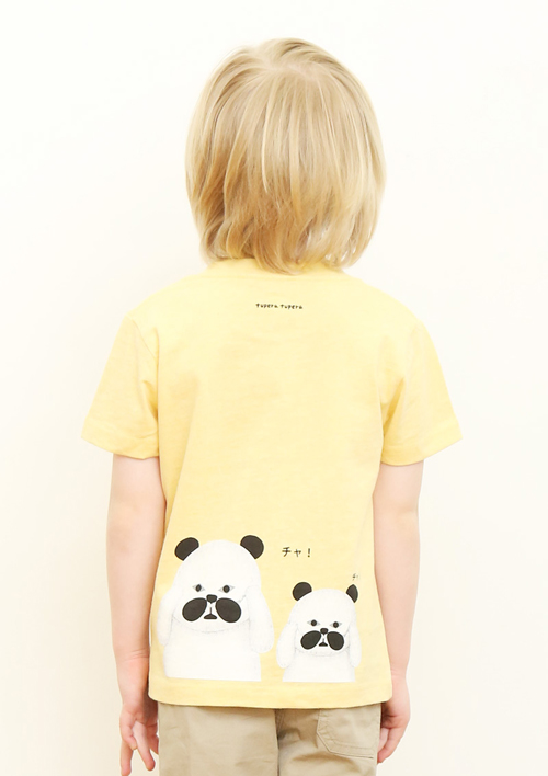 (100)tupera tupera Tシャツ パンダ銭湯 サングラスの商品画像8