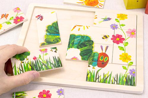 木製パズル はらぺこあおむしの商品画像3