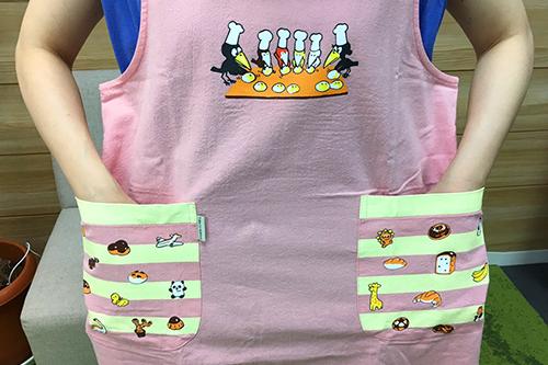 (F)からすのパンやさん エプロン ピンクの商品画像10