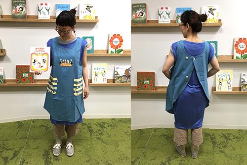 (F)からすのパンやさん エプロン ブルーの商品画像7