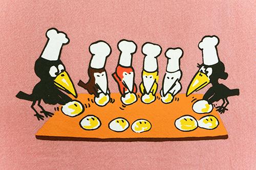 (F)からすのパンやさん エプロン ピンクの商品画像4