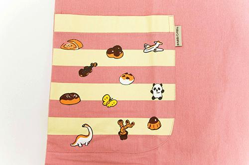 (F)からすのパンやさん エプロン ピンクの商品画像5