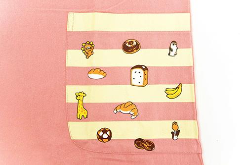(F)からすのパンやさん エプロン ピンクの商品画像6