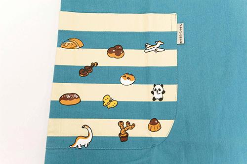 (F)からすのパンやさん エプロン ブルーの商品画像5
