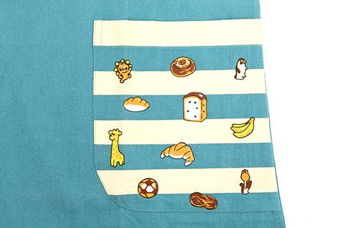 (F)からすのパンやさん エプロン ブルーの商品画像6