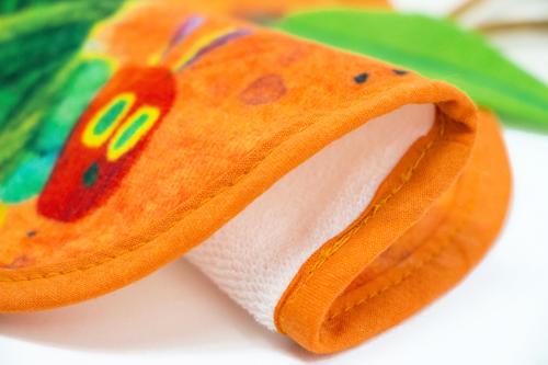 はらぺこあおむし ループ付タオル フルーツ大好き オレンジの商品画像3