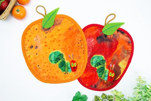 はらぺこあおむし ループ付タオル フルーツ大好き オレンジの商品画像4