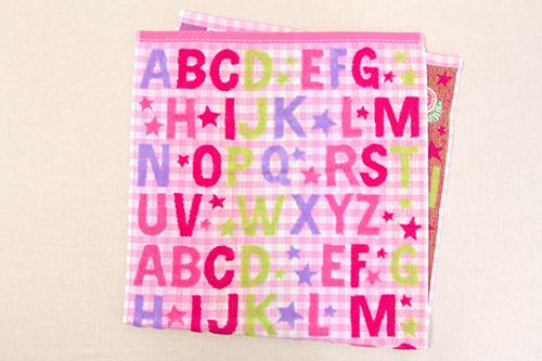 はらぺこあおむし コンパクトバスタオル キャンディ ピンクの商品画像3
