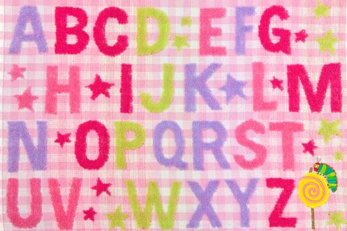 はらぺこあおむし コンパクトバスタオル キャンディ ピンクの商品画像5