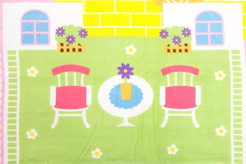 広げて遊べるバスタオル わたしのおうちの商品画像5