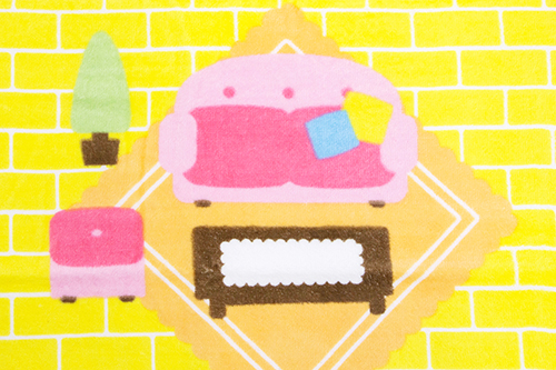 広げて遊べるバスタオル わたしのおうちの商品画像6