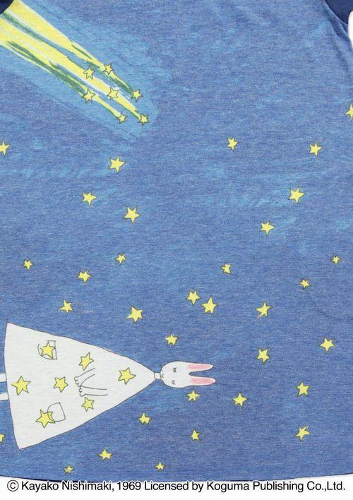 (90)わたしのワンピース 半袖ワンピース 流れ星の商品画像3