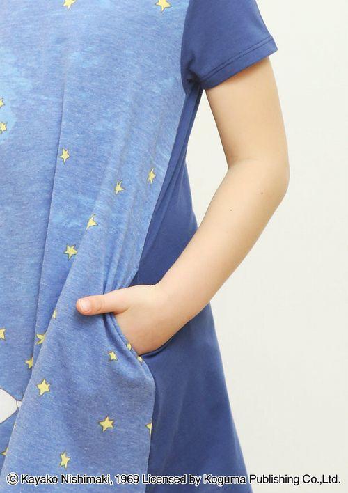 (90)わたしのワンピース 半袖ワンピース 流れ星の商品画像4