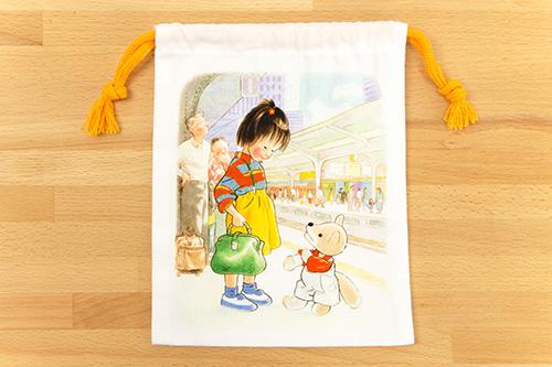 林明子 巾着 こんとあきの商品画像2