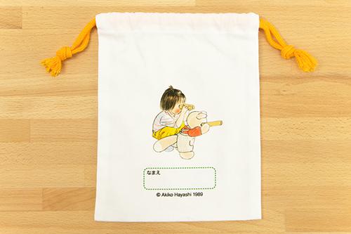林明子 巾着 こんとあきの商品画像3