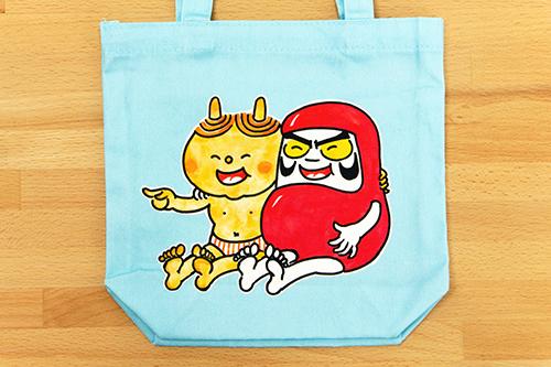 だるまちゃんとかみなりちゃん おつかいバッグの商品画像2