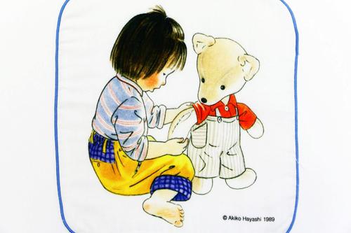 林 明子 ガーゼハンカチ こんとあきの商品画像3