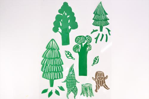 デコレーションステッカー KUBBE Forestの商品画像2