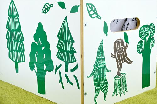 デコレーションステッカー KUBBE Forestの商品画像3