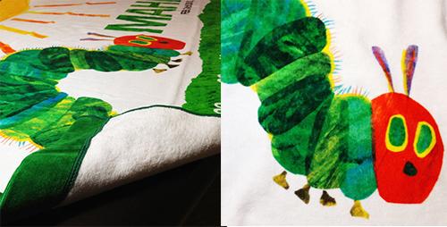 【お仕立券】はらぺこあおむし 名前入り今治製バスタオル用の商品画像7