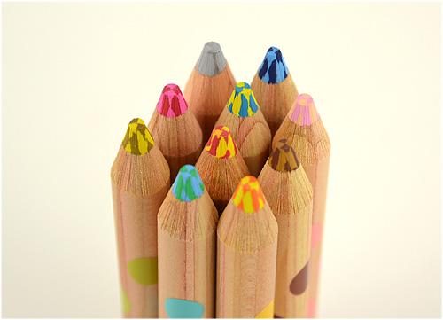 マーブル色鉛筆2