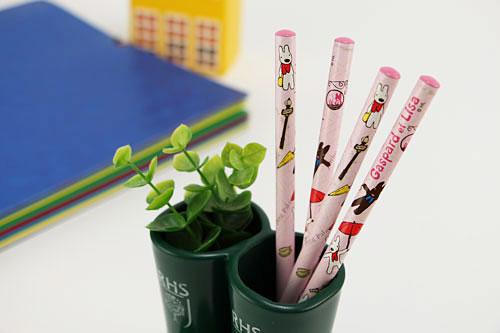 【お得セット】リサとガスパール 鉛筆セット パリ&富士山の商品画像4