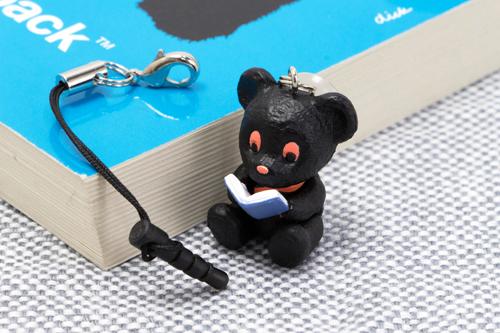 ディックブルーナ ブラックベア スマートフォンスタンドMCの商品画像3
