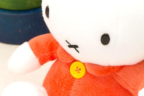ミッフィー ぬいぐるみS オレンジの商品画像4
